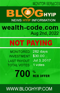 bloghyip.com - hyip wealth code inc