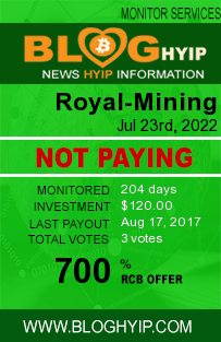 bloghyip.com - hyip royal mining