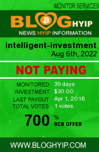 bloghyip.com - hyip intelligent investment