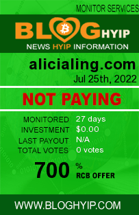 alicialing.com monitoring by bloghyip.com