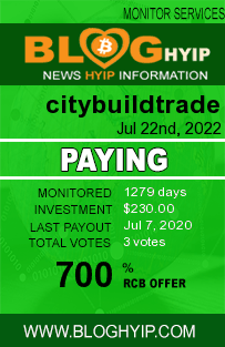 citybuildtrade.com monitoring by bloghyip.com