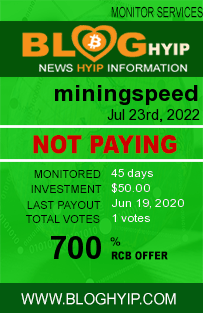 miningspeed.pw monitoring by bloghyip.com