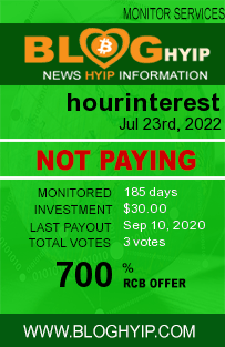 https://hourinterest.com/?ref=payinghyipmonitor monitoring by bloghyip.com