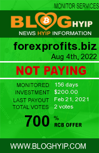 forexprofits.biz monitoring by bloghyip.com