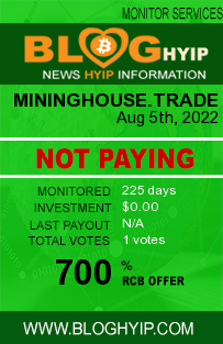 mininghouse.trade monitoring by bloghyip.com
